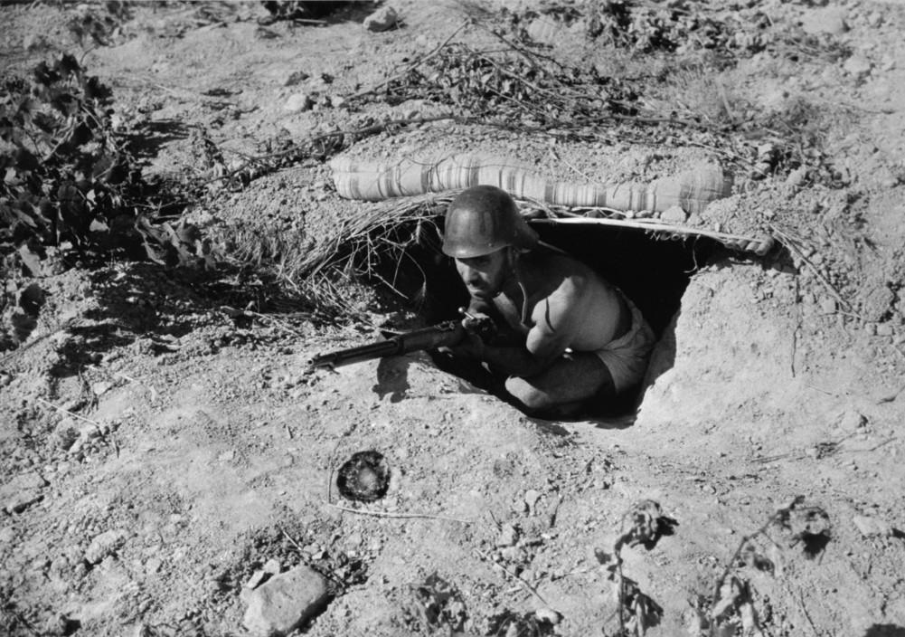 SPAIN. Spanish Civil War (1936-9). icp 135Aragon front. August/September, 1936. Republican soldier.