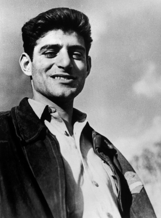 SPAIN. Near Barcelona. October 28th, 1938. Milt WOLFF, commander of the Abraham Lincoln Batalion. He would soon leave Spain together with the International Brigades, having been dismissed by the Republican government, as a consequence of Stalin's friendship with Germany.