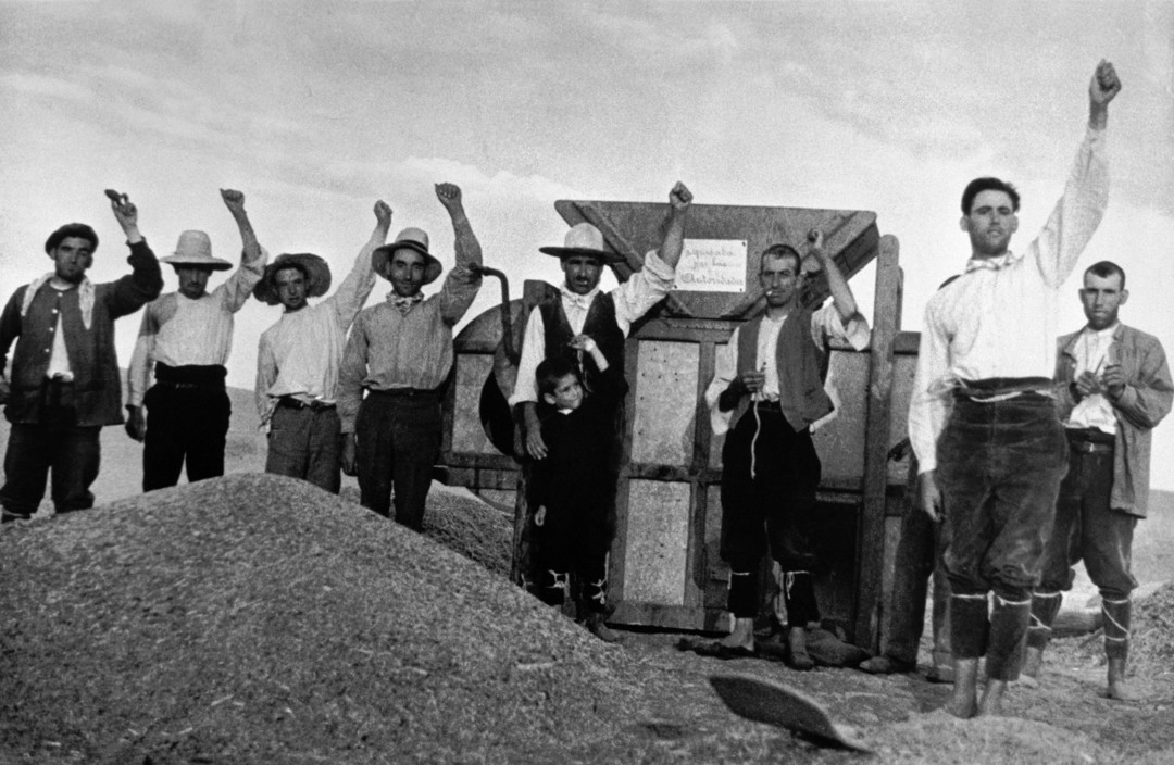 SPAIN. Spanish Civil War (1936-9) ICP 145Aragon Front. August/September, 1936. Collective farmers who supported the Republican cause.Aragon.      Robert Capa R 1936 SPAIN. Spanish Civil War (1936-9) icp 154Near Cerro Muriano. Cordoba front. September 5th, 1936(?). Republican soldier. High Resolution     Robert Capa R 1936 SPAIN. Spanish Civil War (1936-9) ICP 172Madrid. November/December, 1936. Members of the International Brigades, in or around the university campus, in th ... High Resolution
