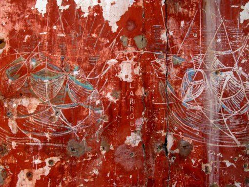 Fascinas Military Camp Graffiti