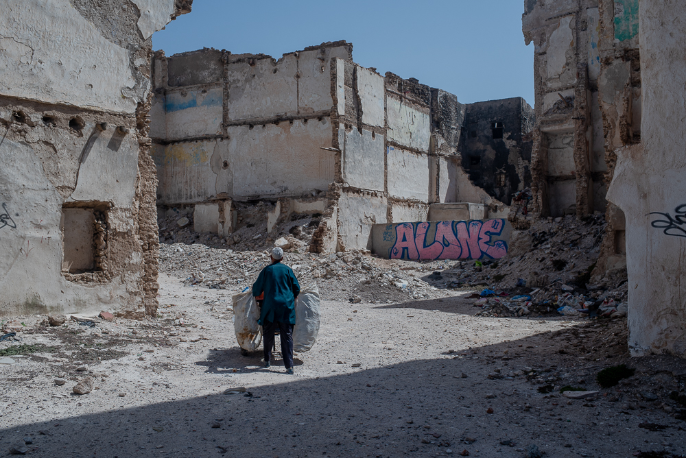 Historic Catastrophe : the Agony of Essaouira