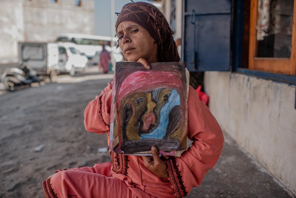 Kadisha,  Amazigh Artist of Essaouira