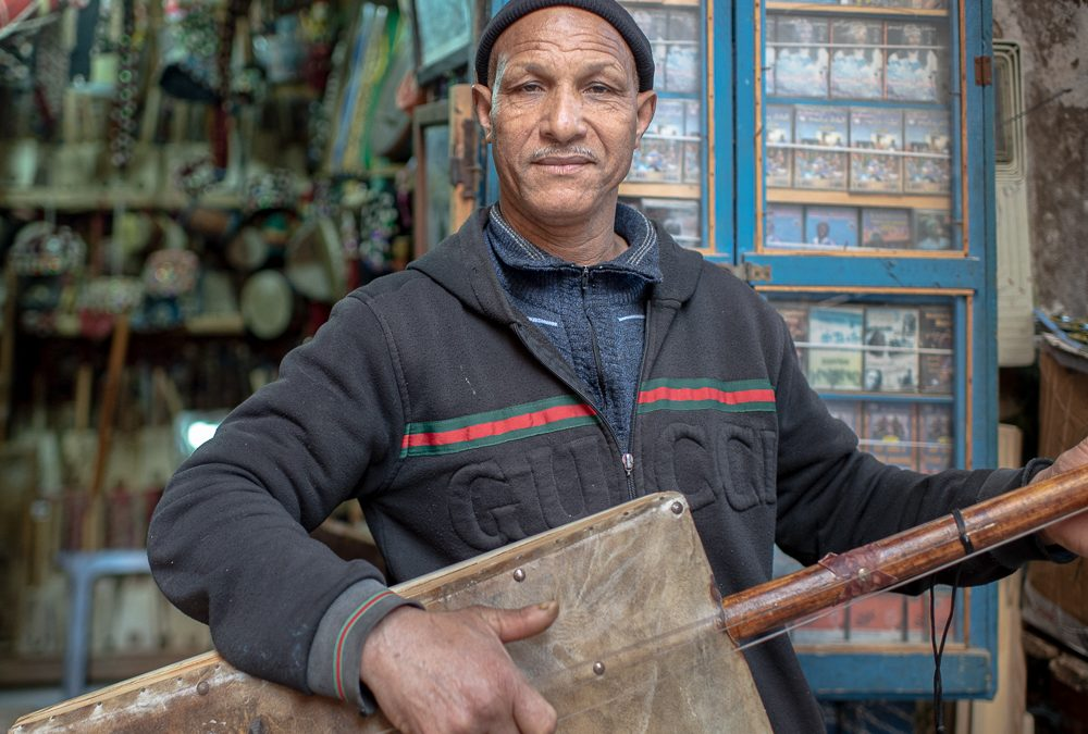 Malleem  Najib Soudani :  Gnawa of Essaouira